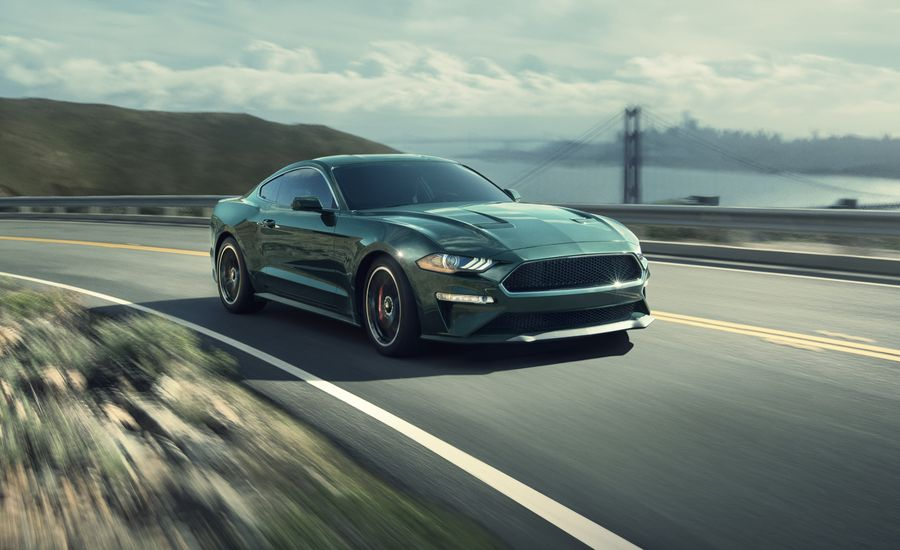2019 ford mustang bullitt driven riding 480 loud horses. Black Bedroom Furniture Sets. Home Design Ideas