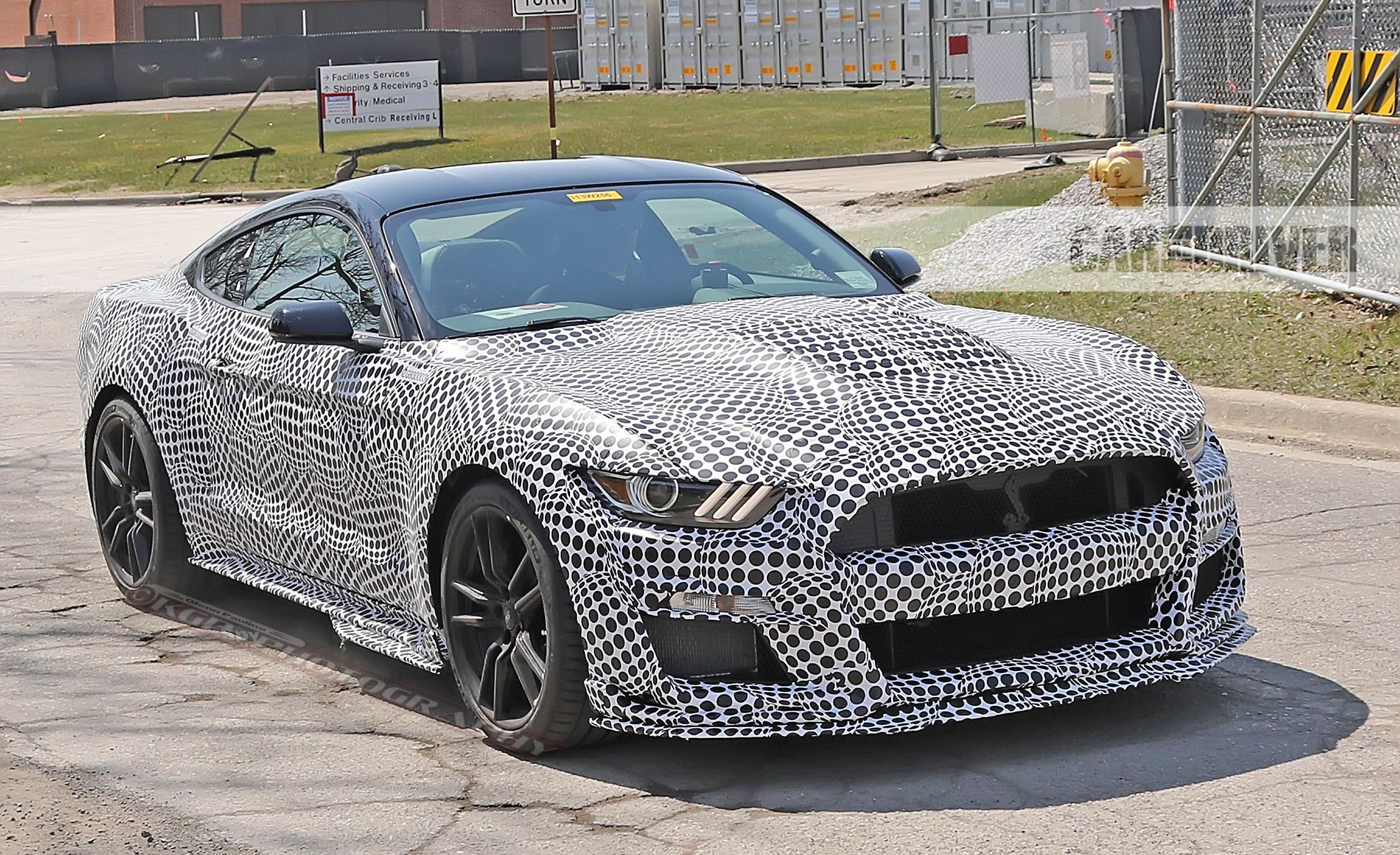2020 Ford Mustang Shelby Gt500 Spied News Car And Driver