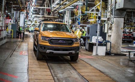 See Photos of the First Production Ford Rangers