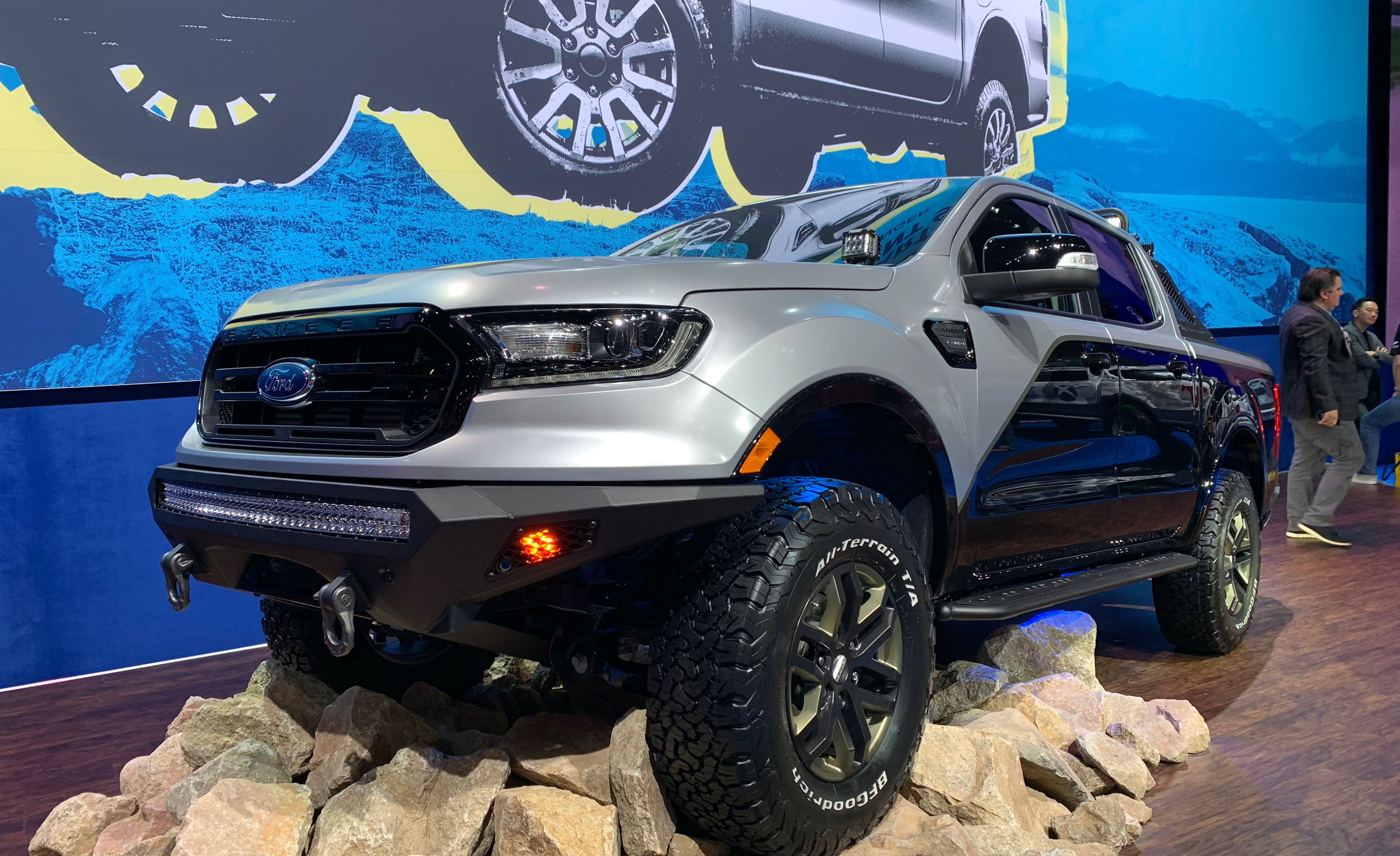 My Bmw Usa >> Seven Modified 2019 Ford Rangers Debut at SEMA