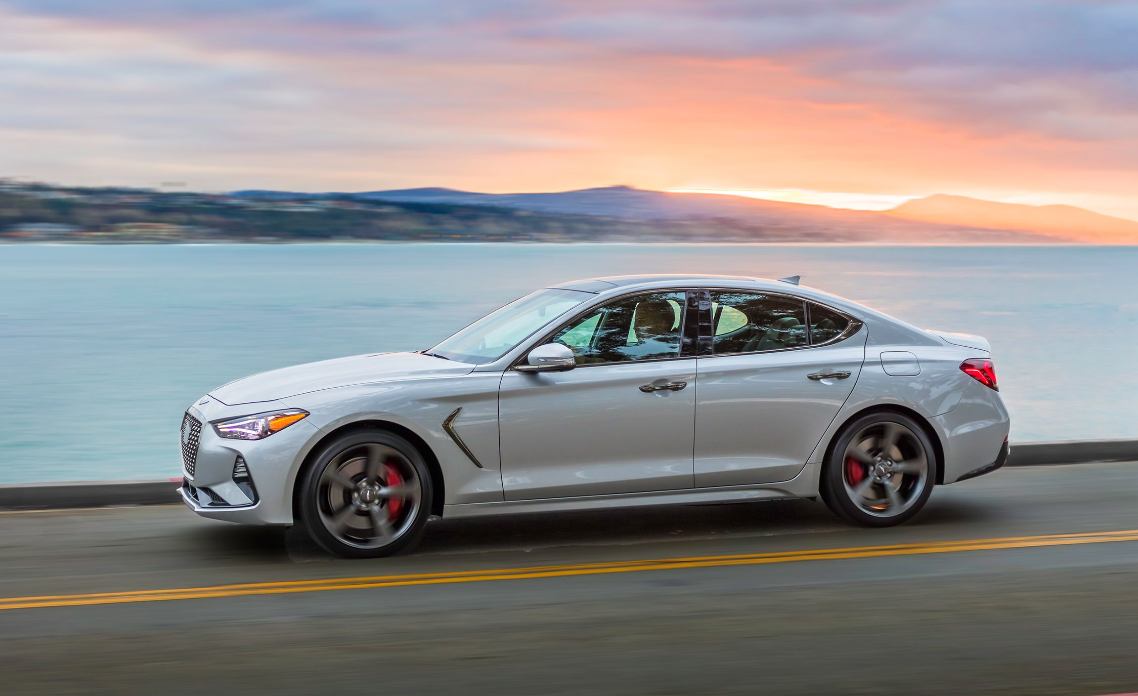 Mercedes Benz Silver Lightning Price >> This Is the 2019 Genesis G70 Car and Driver Would Build