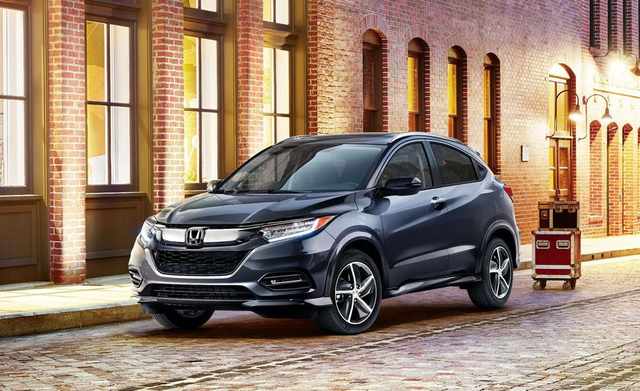 The 2019 Honda HR-V Gets a New Look and New Safety Tech