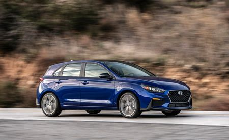 The 2019 Hyundai Elantra GT N Line Looks Sportier and Has Real Handling Upgrades