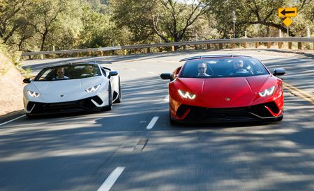 2018 Lamborghini Huracán Performante Spyder - First Drive Review - Gallery