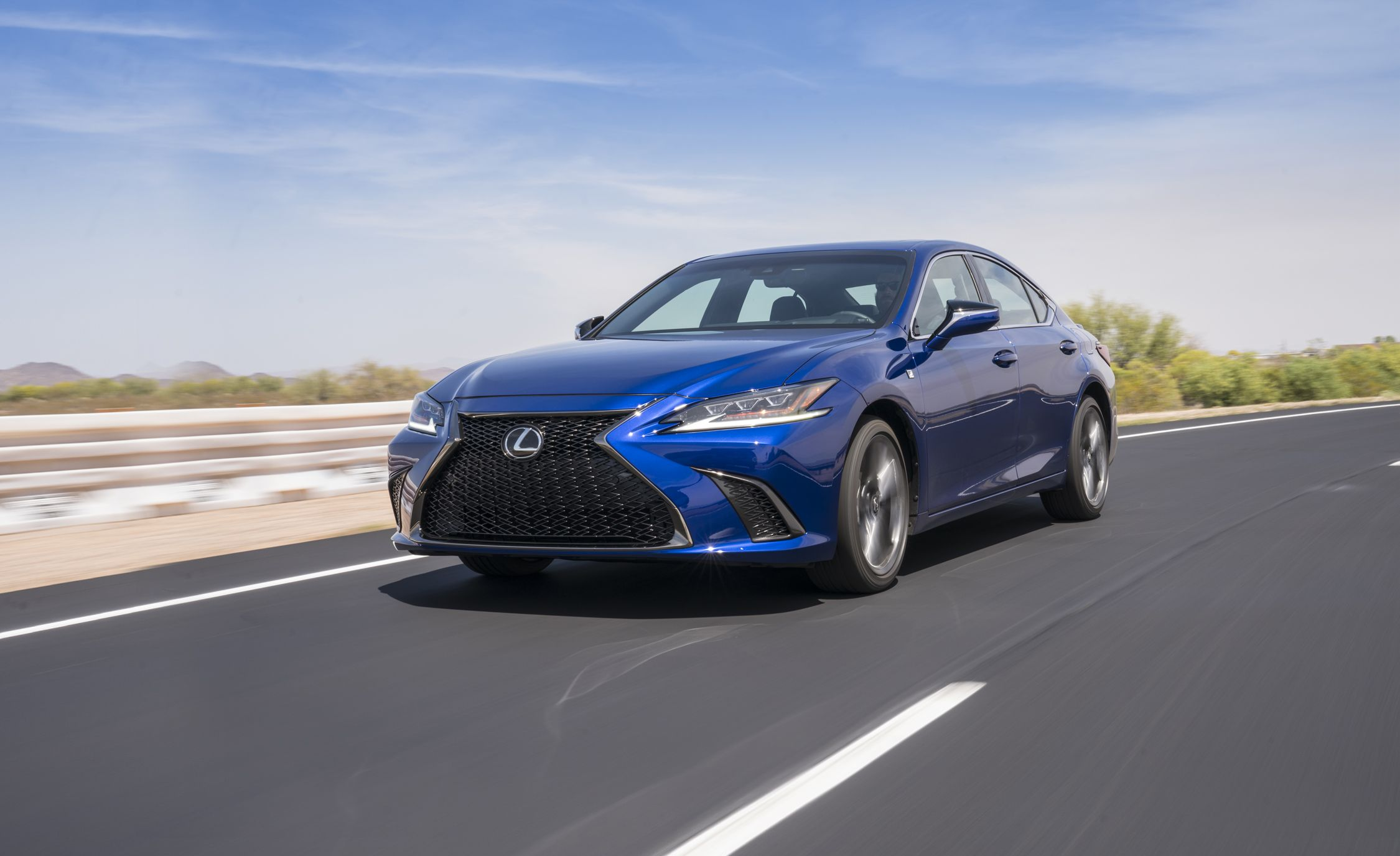 Lexus Gs 350 2018 >> 2019 Lexus ES Revealed | News | Car and Driver