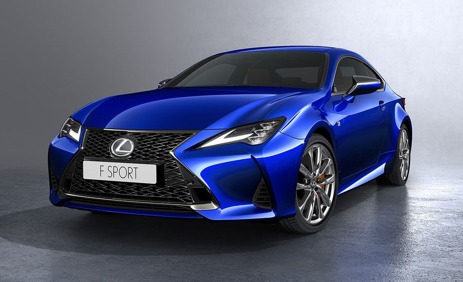 The 2019 Lexus RC Gets More Chiseled Looks and a Retuned Suspension