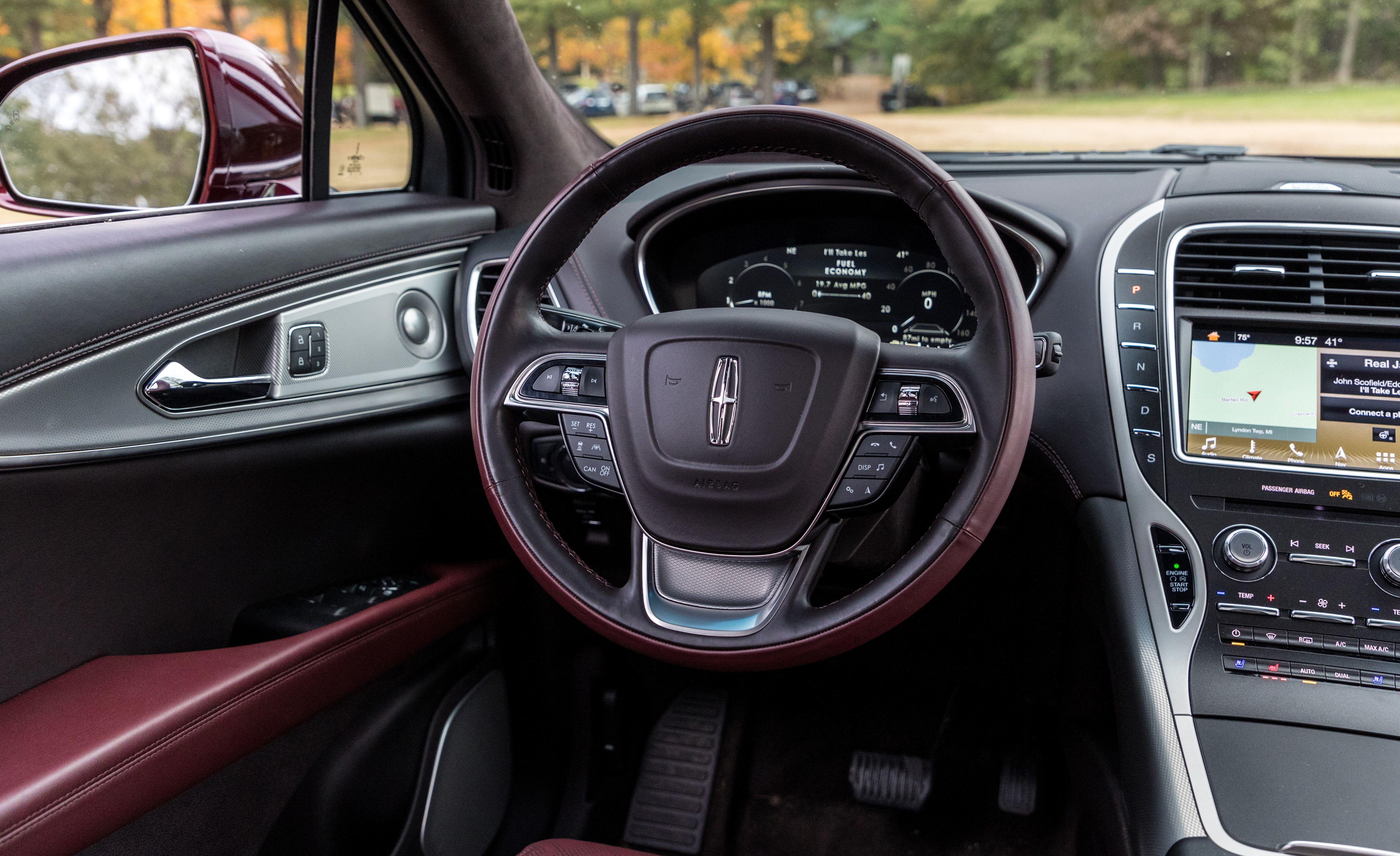 2019 Lincoln Nautilus Reviews Lincoln Nautilus Price Photos And