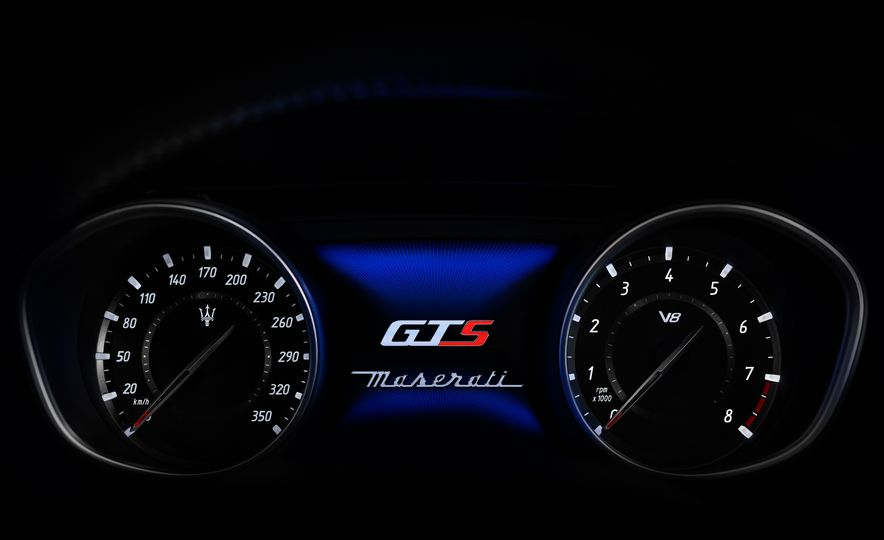 2019 Maserati V8 Levante GTS - Slide 17