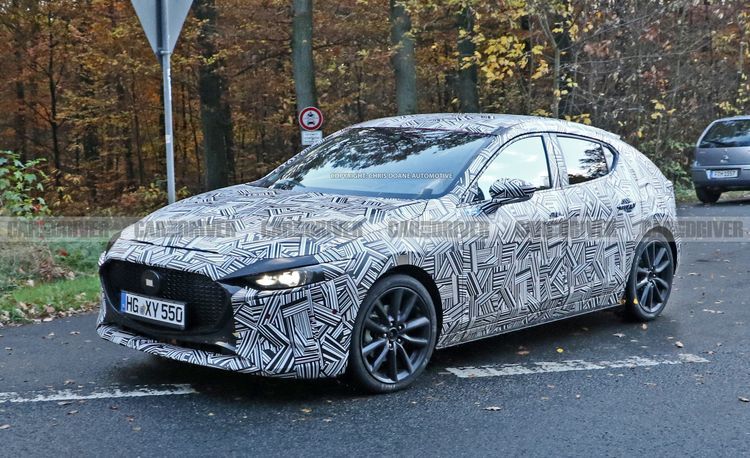 All-New 2019 Mazda 3 Sedan and Hatchback Spied Ahead of This Month's Debut