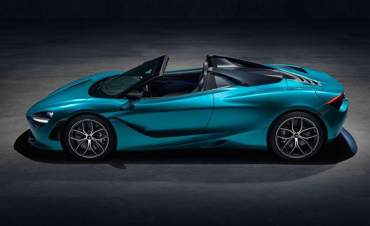 McLaren 720S Spider Revealed, Features Carbon-Fiber Retractable Hard Top