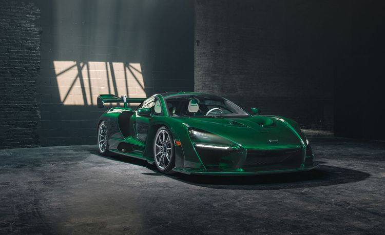 Does the First McLaren Senna Delivered in the United States Make You Green with Envy?