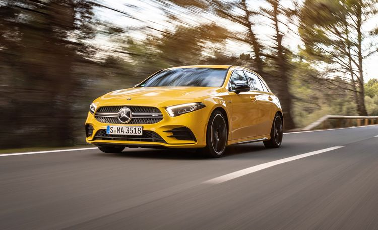 The 2019 Mercedes-AMG A35 Hatchback Is AMG's New Mighty Mite