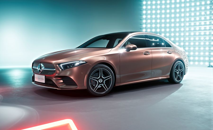 Here's the New Mercedes-Benz A-class Sedan—in Long-Wheelbase China-Market Form