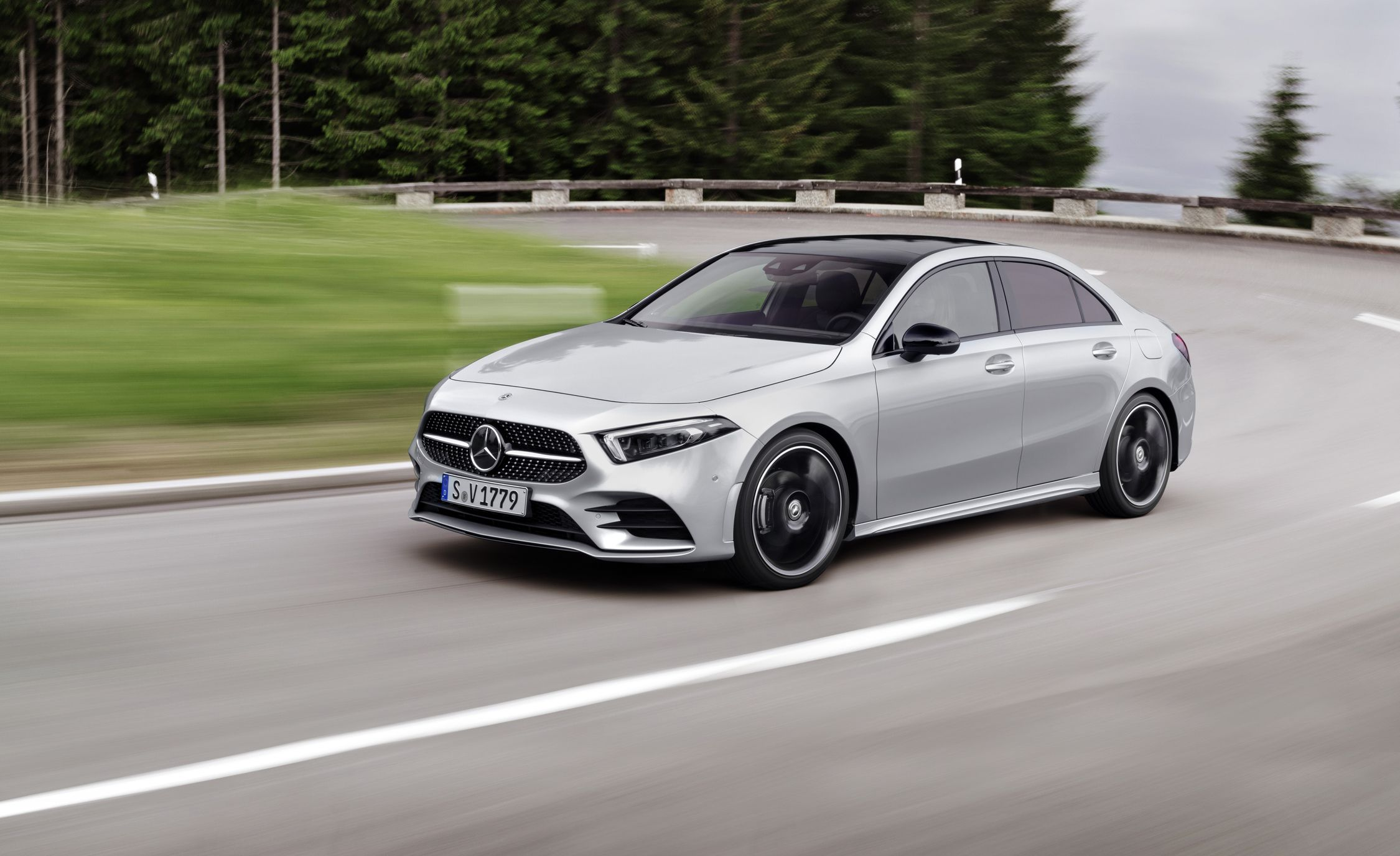 2019 Mercedes Benz A Class Sedan: The First Of A New Generation Of