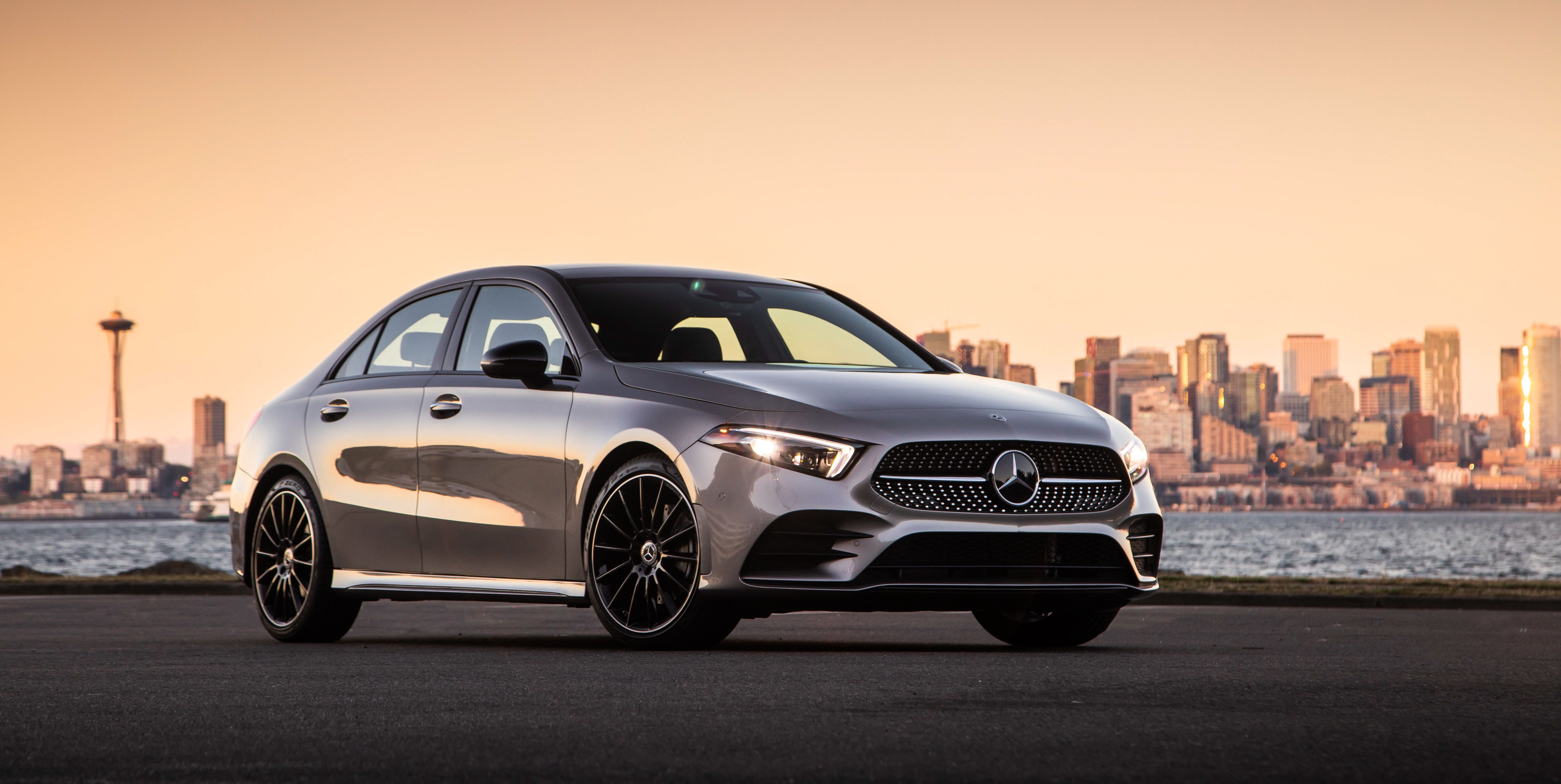The 2019 Mercedes-Benz A-class Sedan Is the Cheapest Benz You Can Buy