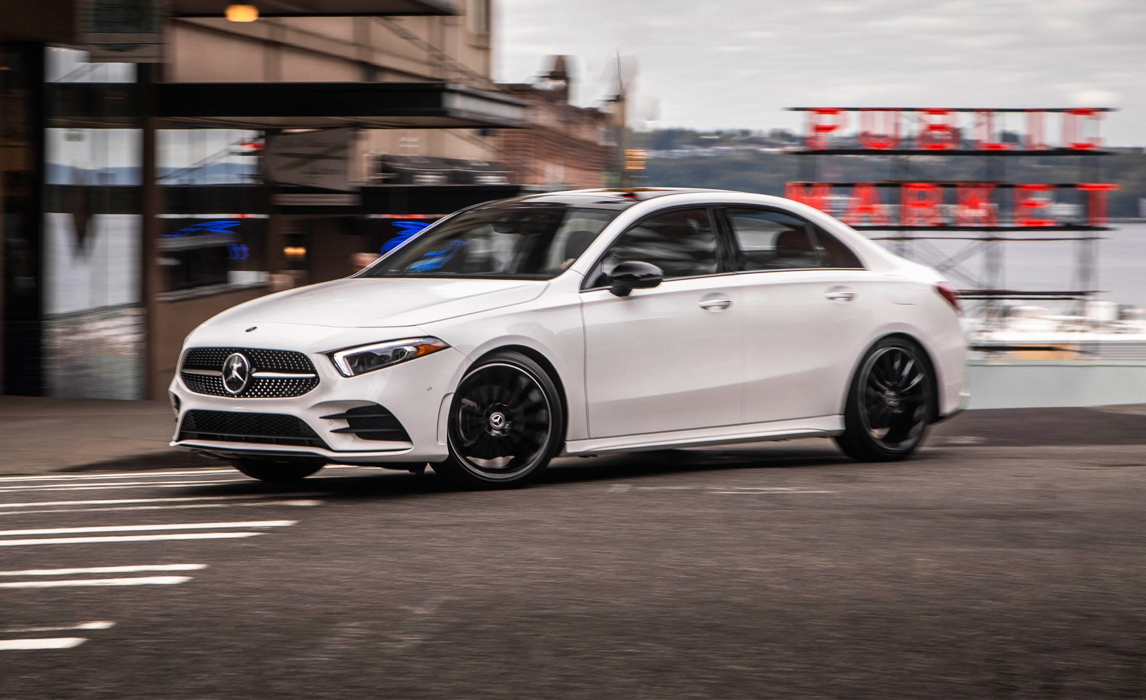 Lovely The 2019 Mercedes Benz A Class Sedan Is A Worthy Luxury Entry Point