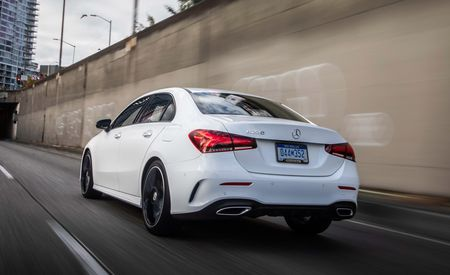 See Every Angle of the New 2019 Mercedes-Benz A-Class Sedan