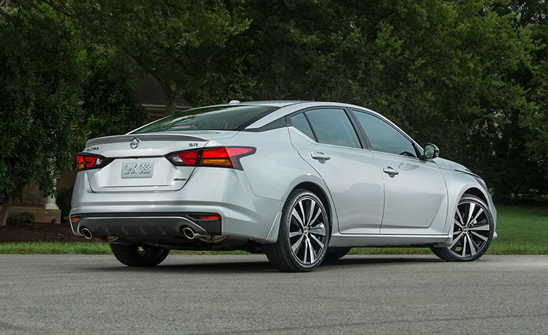 2019 Nissan Altima Boasts Powertrain Upgrades And New Styling