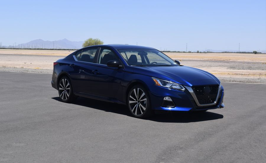 We Drove 2019 Nissan Altima Prototypes and All We Can Tell You About Are the All-New Four-Cylinder Engines