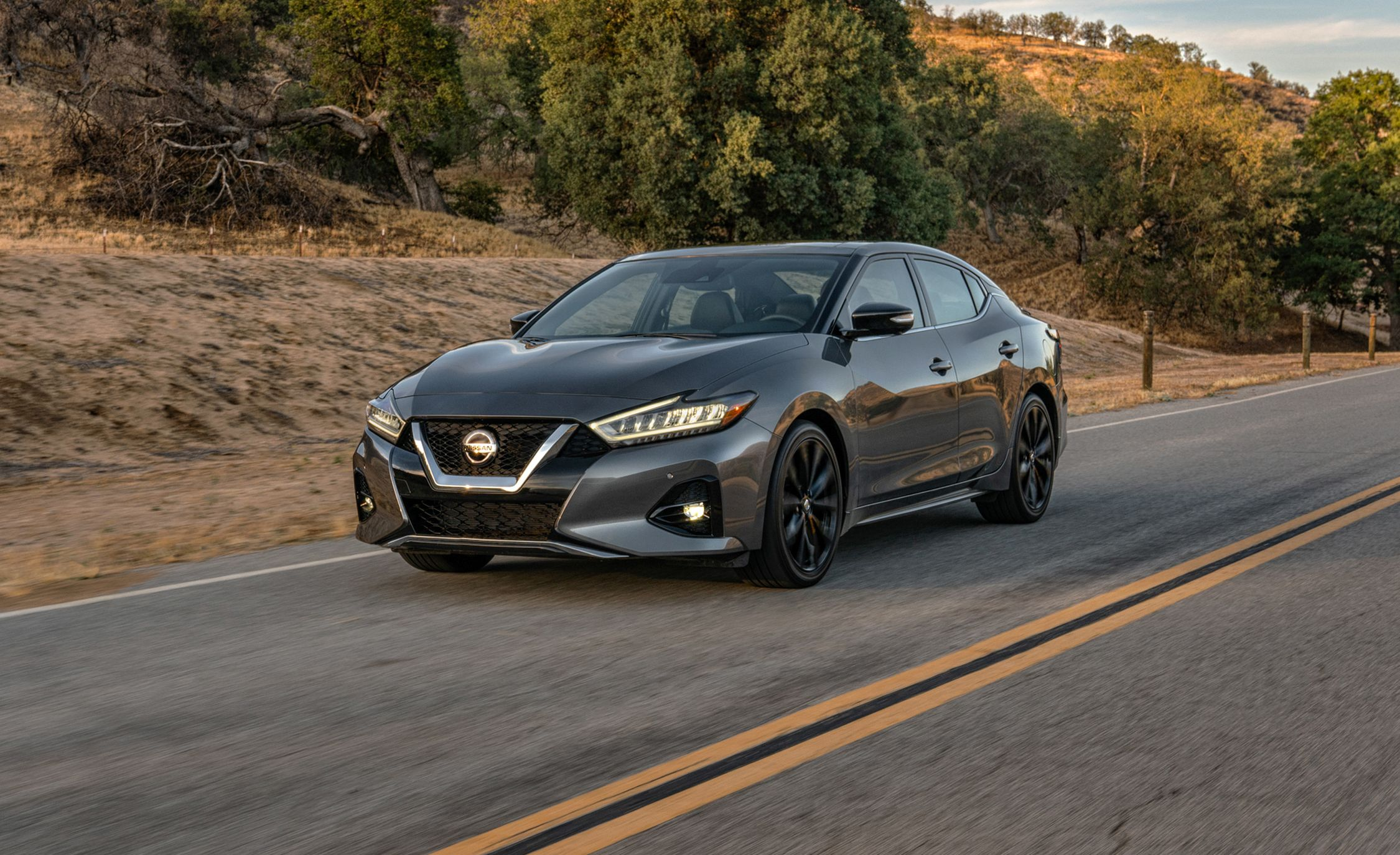 The 2019 Nissan Maxima Sticks It Out with Small Improvements