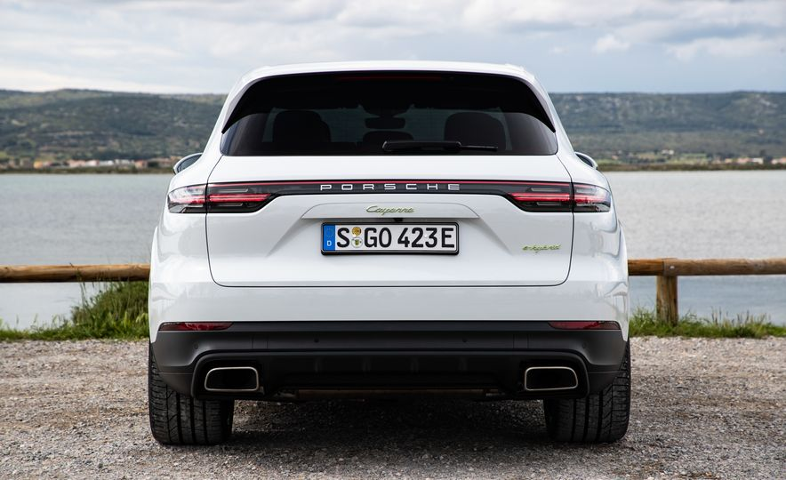 2019 Porsche Cayenne E-Hybrid - Slide 62