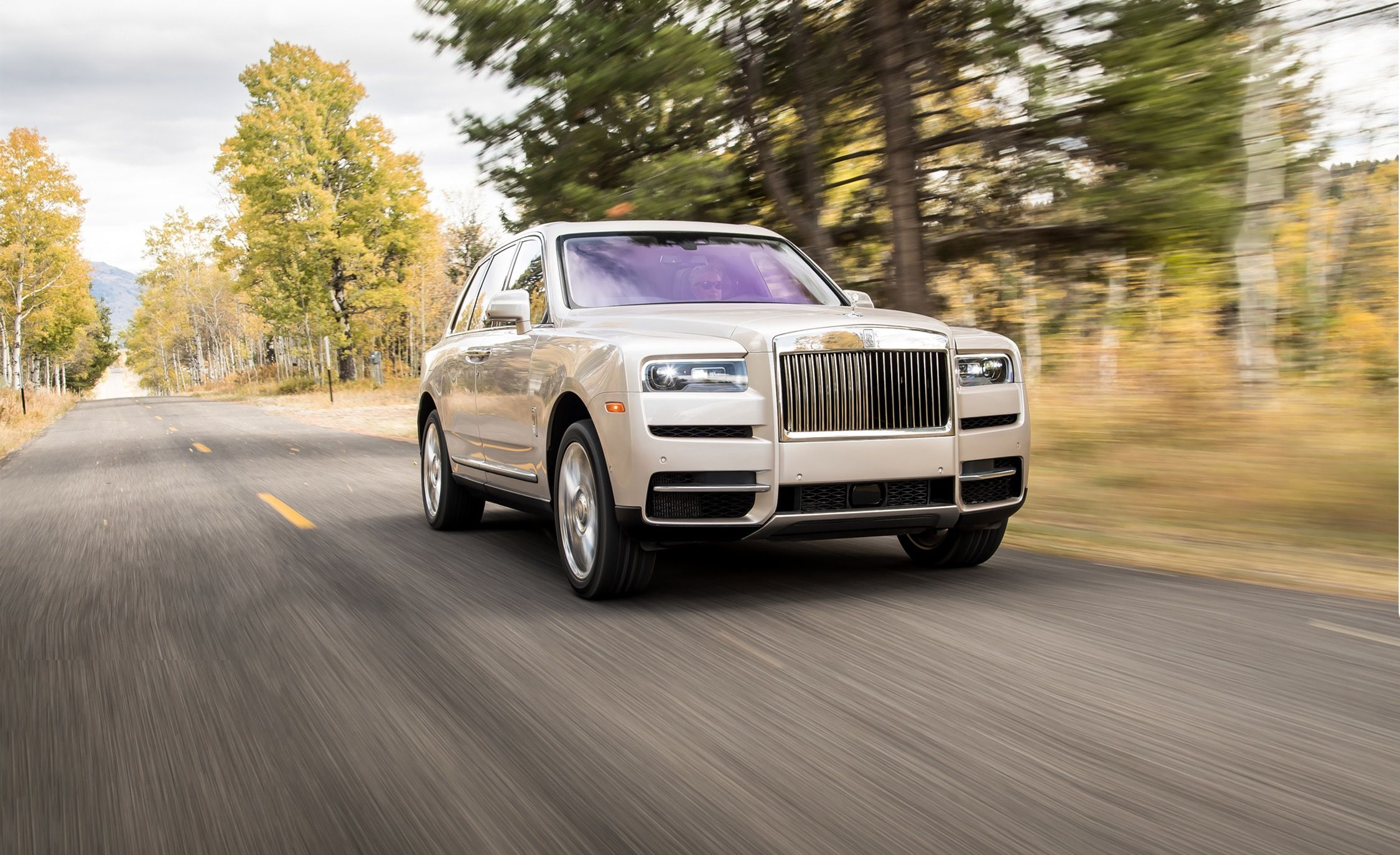 The 2019 Rolls-Royce Cullinan Is an SUV for Royalty