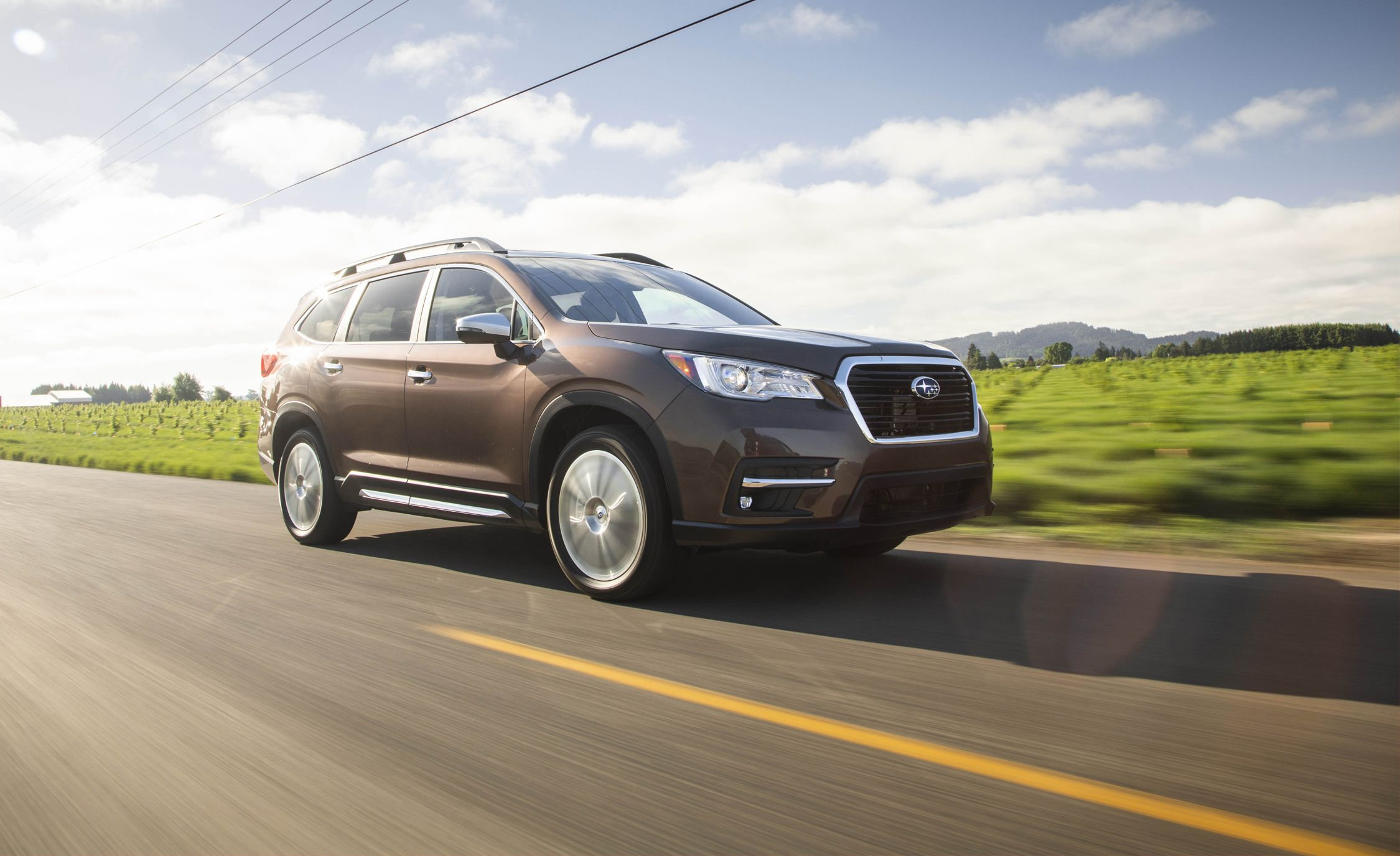 2019 Subaru Ascent First Drive S Deal Review Car And Driver