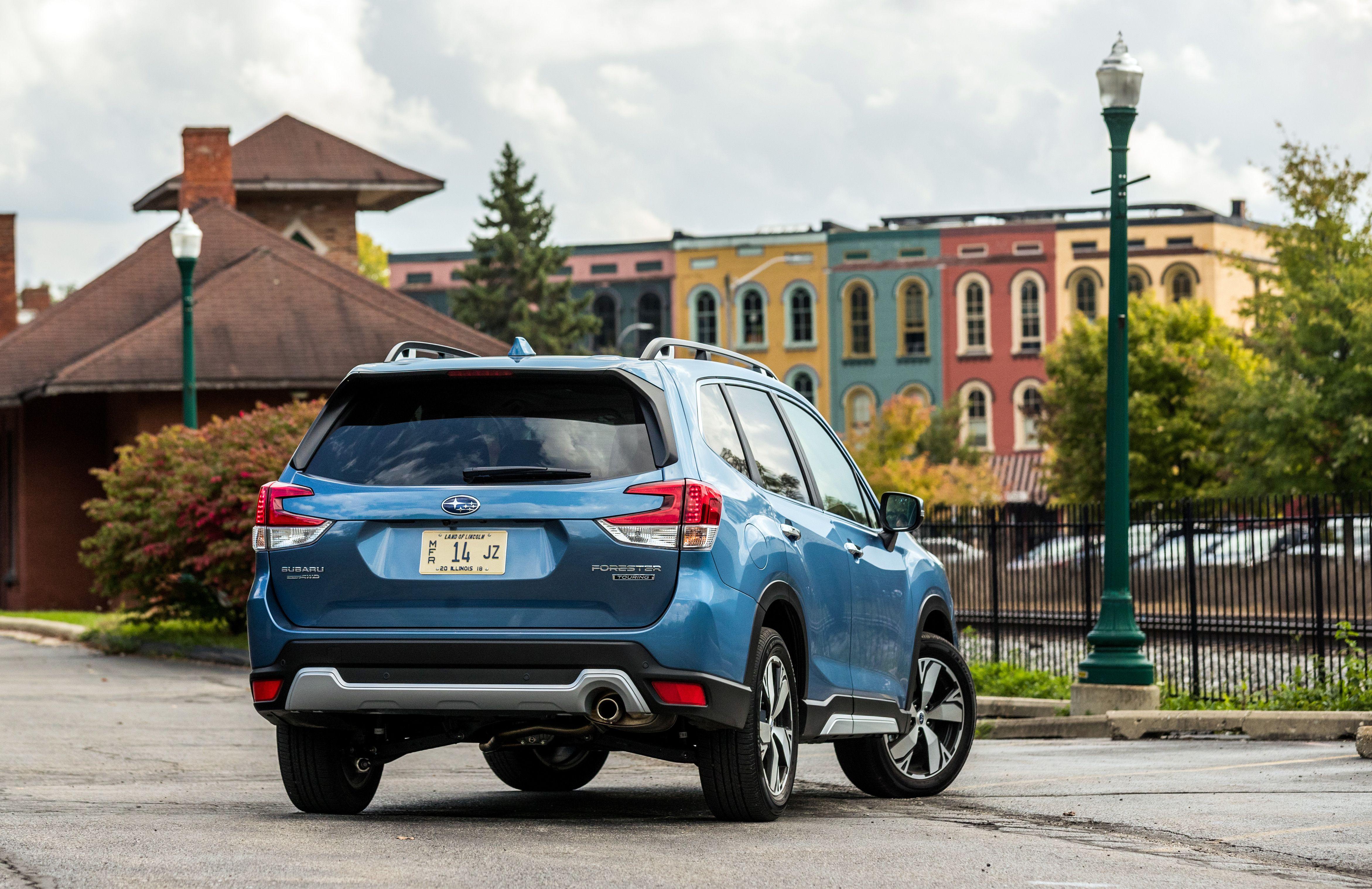 2019 Subaru Forester Reviews Price Photos And Specs Car Driver
