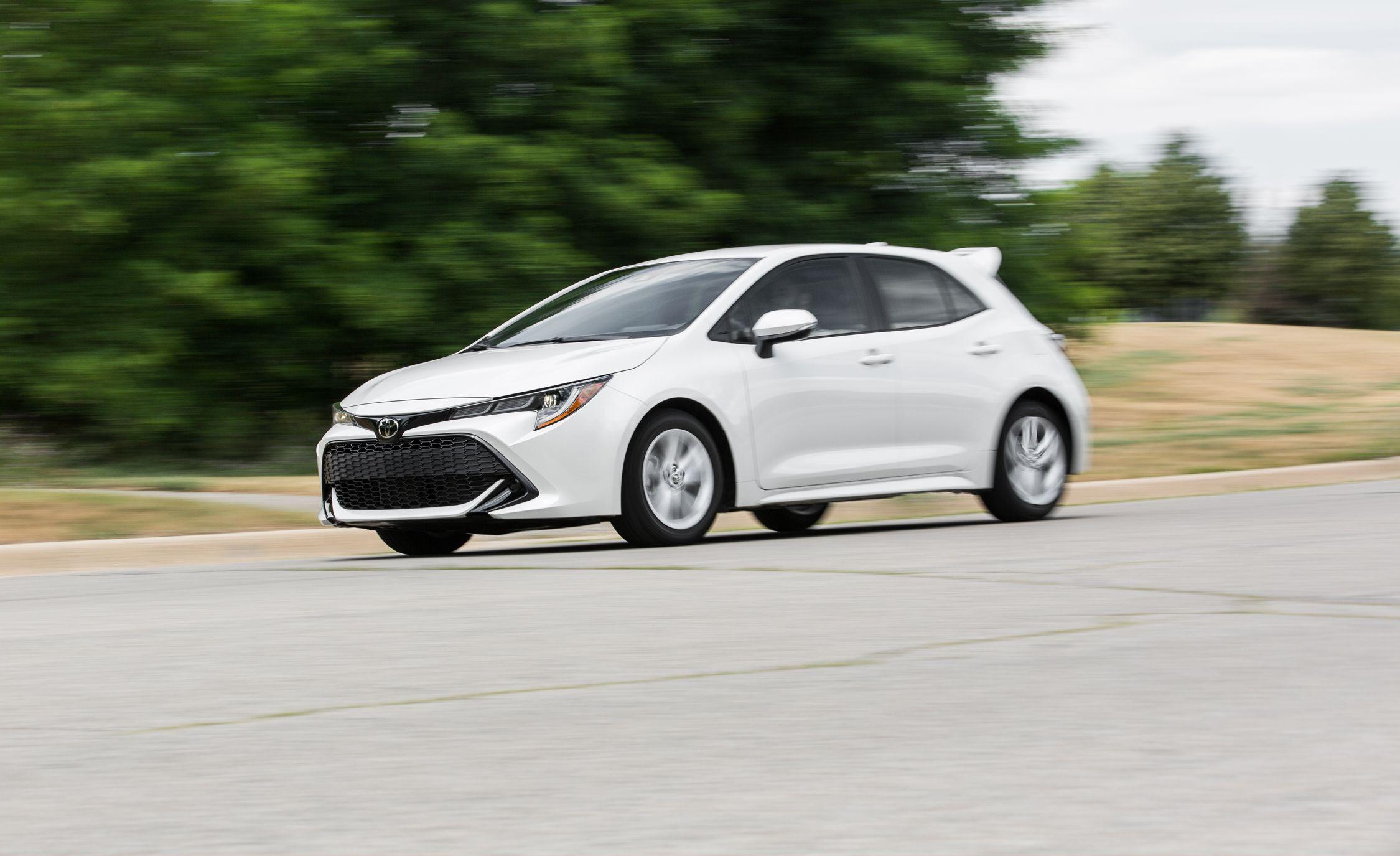 The 2019 Toyota Corolla Hatchback Belies Its Reputation
