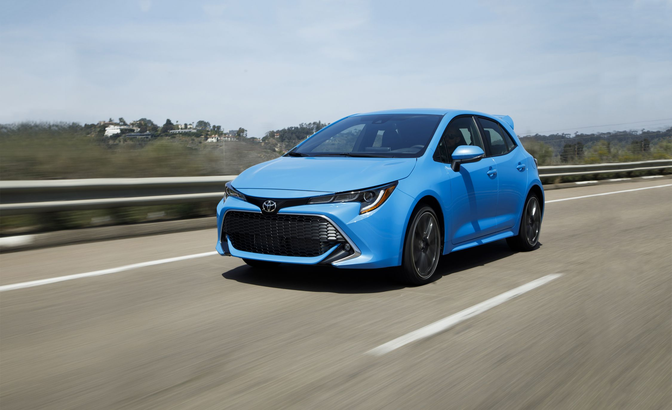 2019 toyota corolla hatchback first drive still the same soul rh caranddriver com Toyota Yaris Hatch Tate's Auto Center