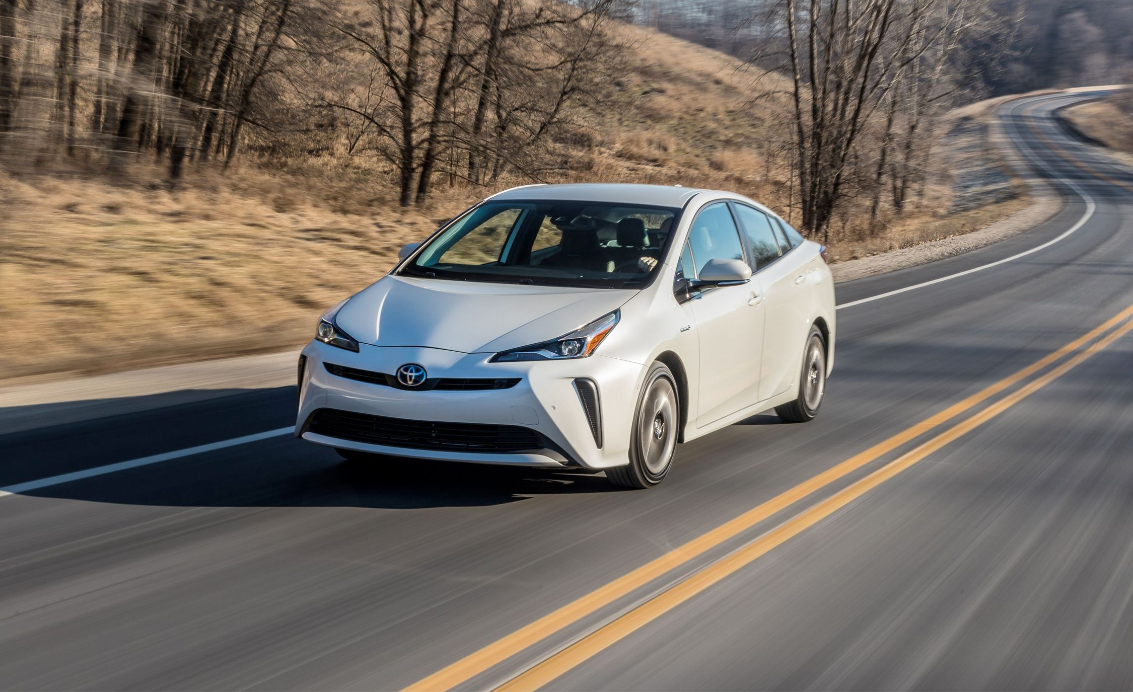 The 2019 Toyota Prius Awd E Brings Better Traction To Brand S Signature Hybrid