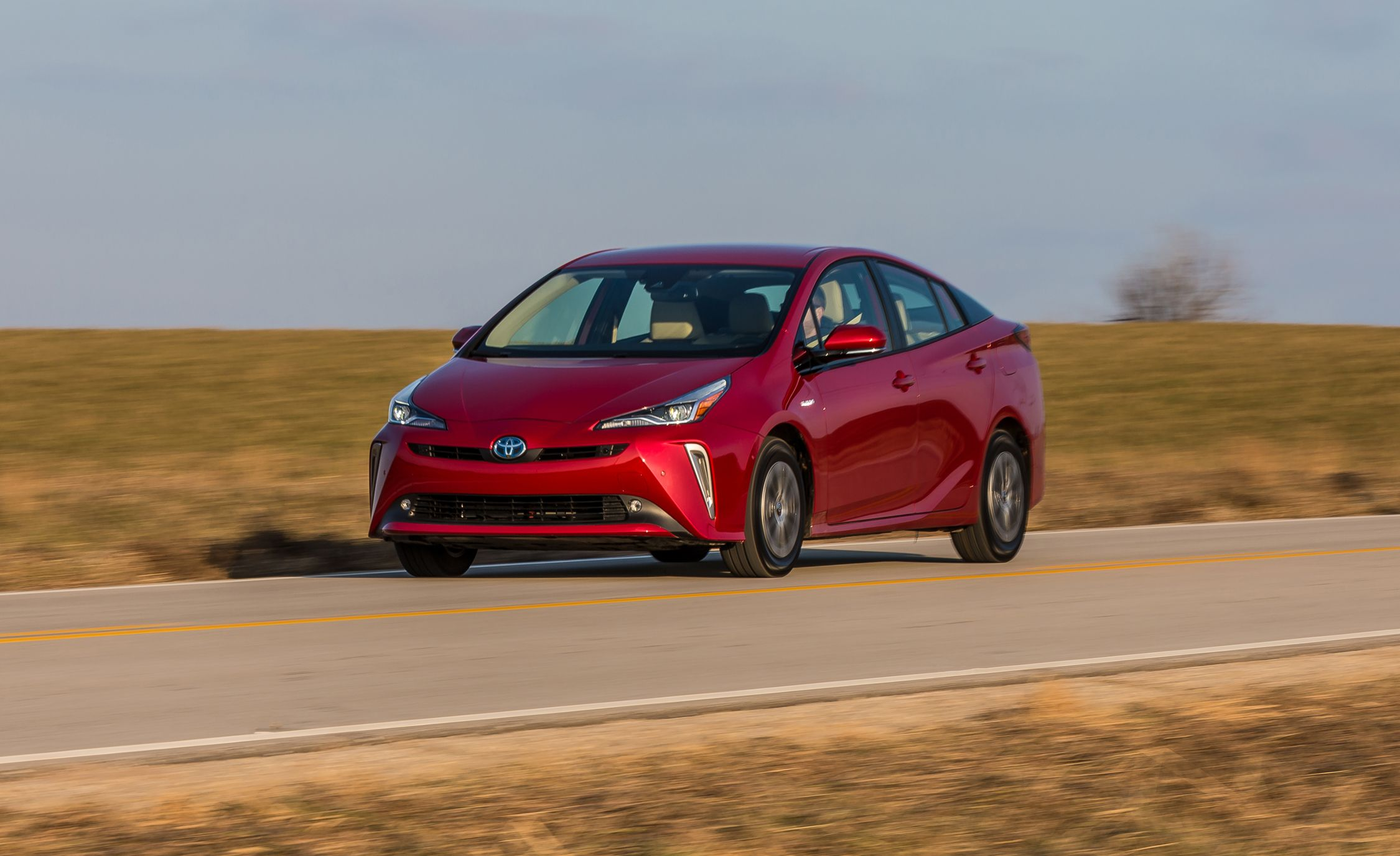 The 2019 Toyota Prius AWD-e Brings Better Traction to the Brand's Signature Hybrid