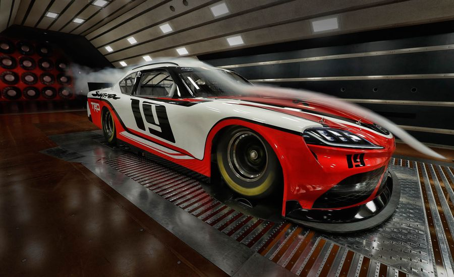 How the NASCAR Xfinity Series Toyota Supra Lines Up with the Production Model