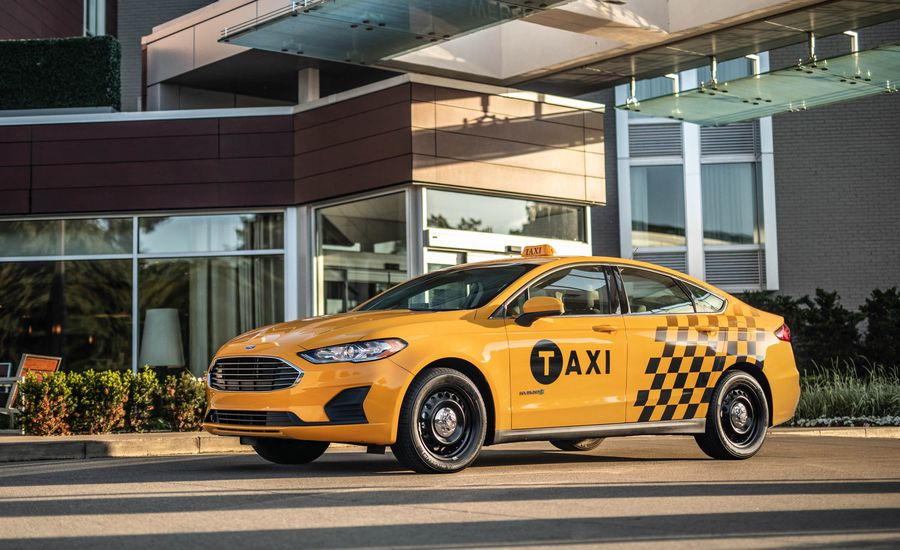 Cab Forward: Ford Adds Hybrid and Diesel Taxis