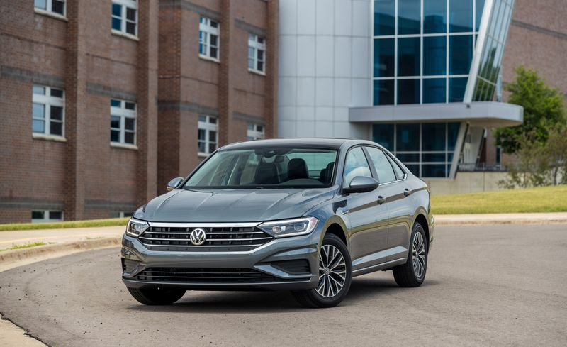 But It S From Axle To And Under The Hood That Sedan Diverges Most Hatch Vw Stretches Jetta Wheelbase 105 7 Inches