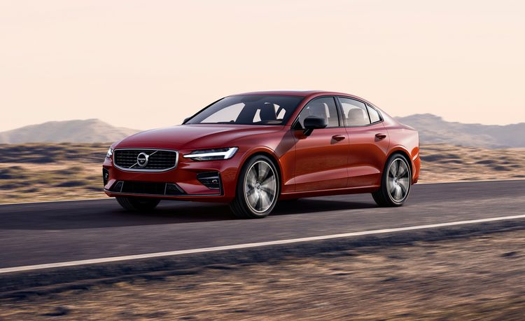 2019 Volvo S60 Sedan The First Made In U S A News Car And Driver