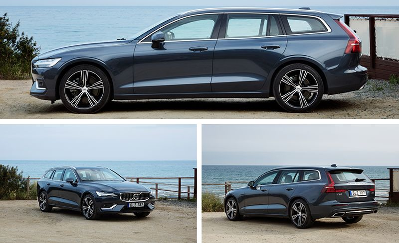 2019 Volvo V60 First Drive Entry Luxe Longroof Review Car And