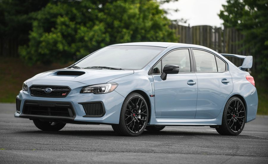 Gray Scale: Subaru Unveils 2019 WRX and WRX STI Series.Gray
