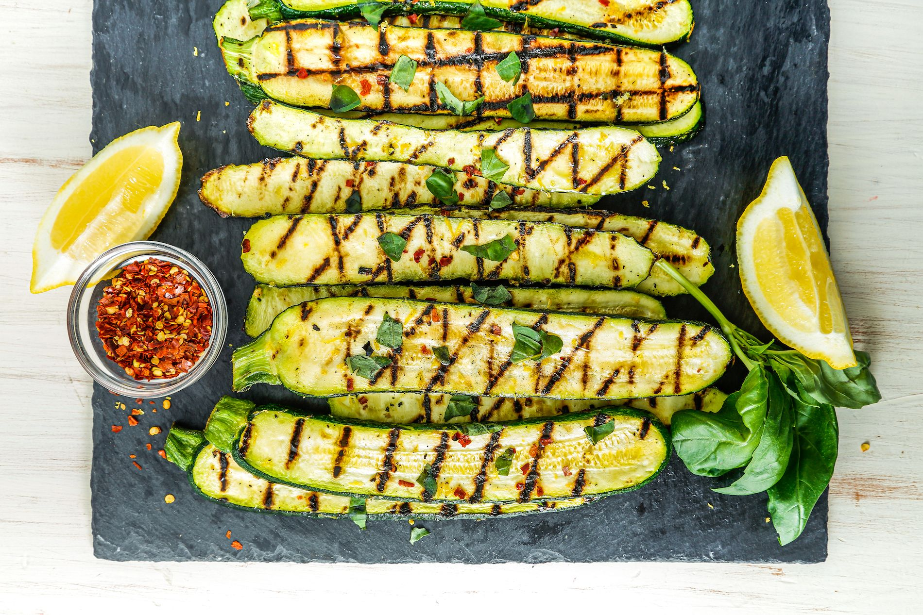 Best Grilled Zucchini Recipe How To Grill Zucchini Delish Com