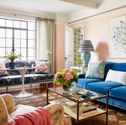 livingroom of lilse mckenna home