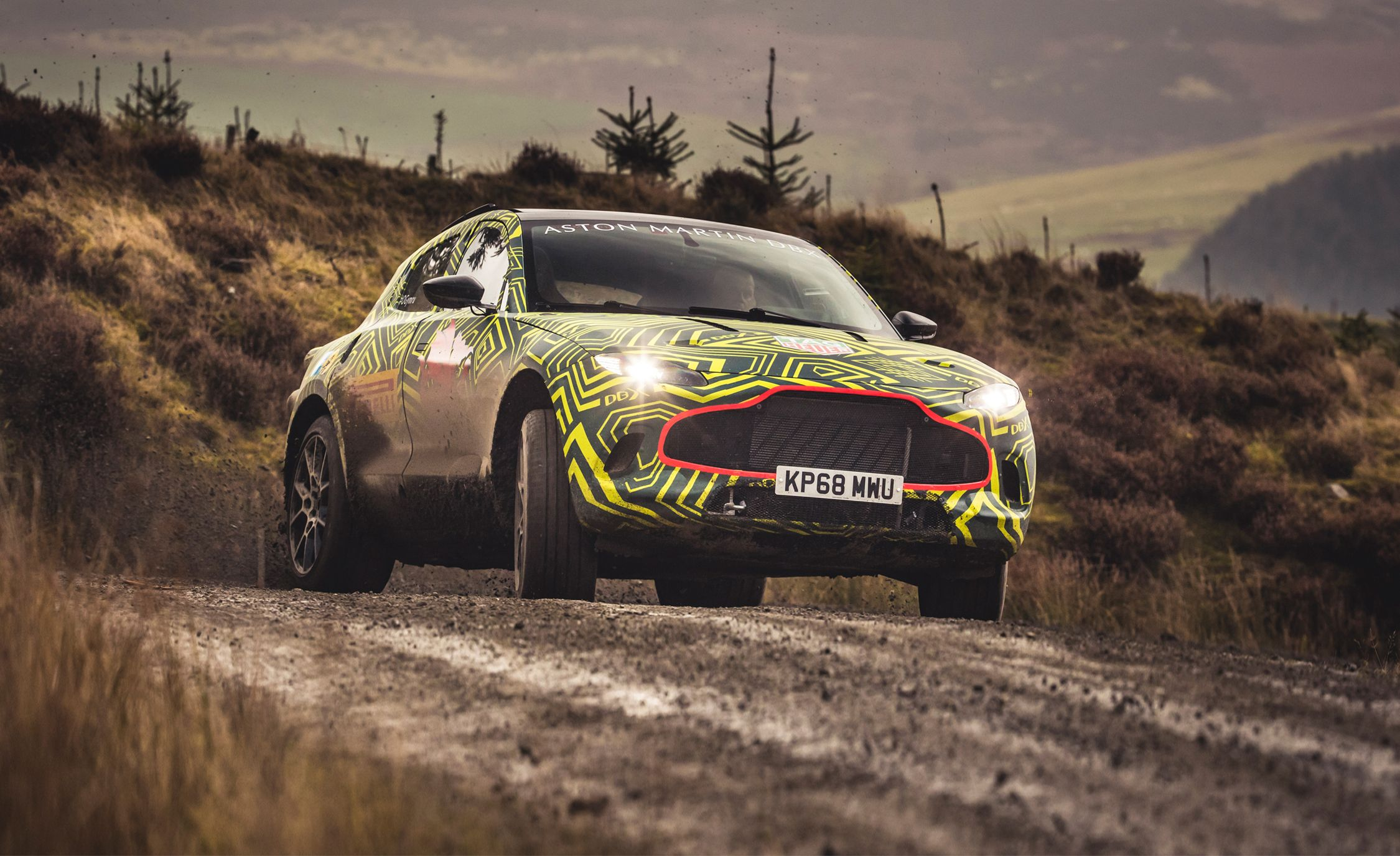 The 2020 Aston Martin DBX SUV Is Almost Here and It Looks Awesome