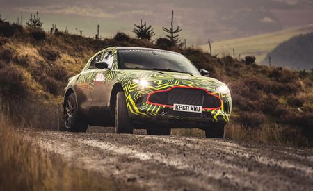 The 2020 Aston Martin DBX SUV Is Coming and It Looks Awesome