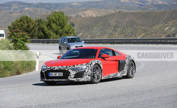 2020 Audi R8 Spied: Styling Changes Are Just Part of the Story