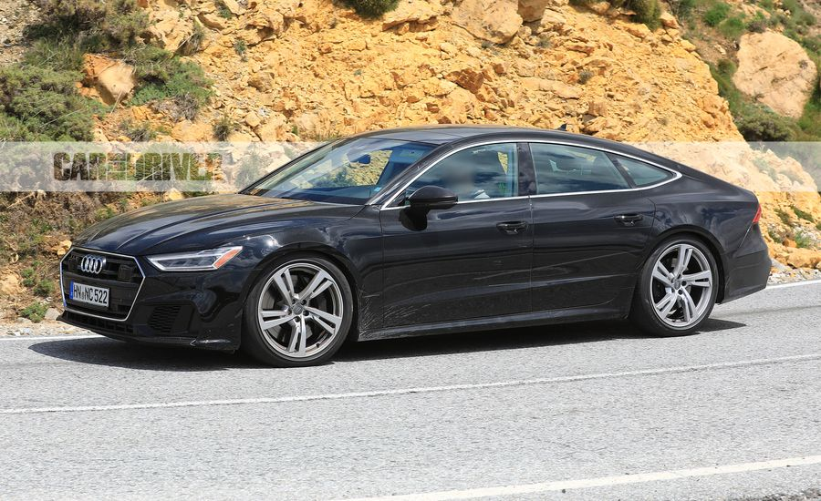 2020 Audi S7 Spied Looking Just as Under-the-Radar Fast as Before