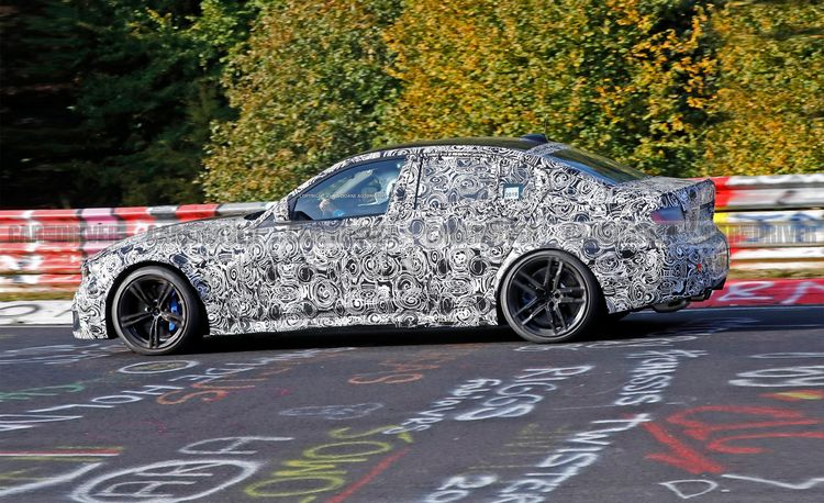 2020 BMW M3 Spied Looking Lean, Mean, and Ready for Battle