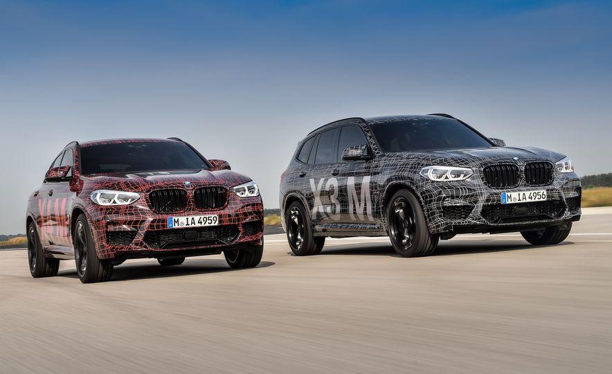 2020 BMW X3 M and X4 M prototypes - Slide 1