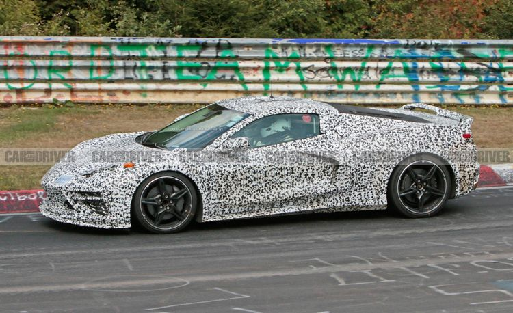 Fresh Mid-Engine Corvette Spy Shots Reveal New Details [Video]