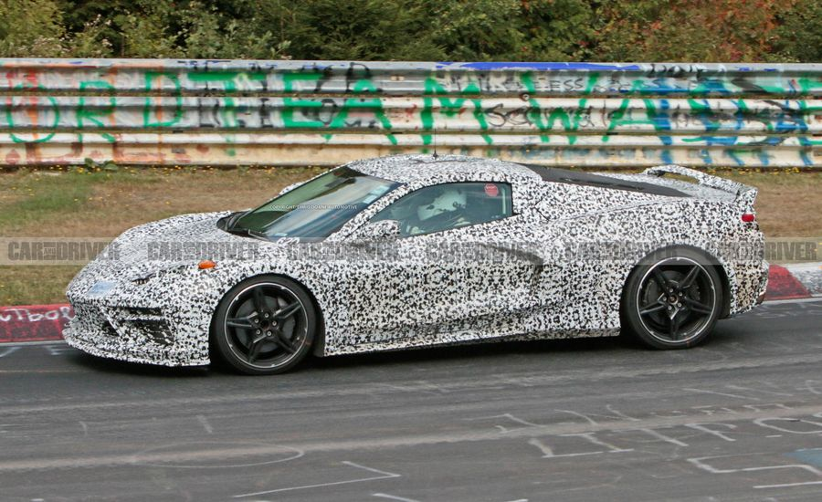 Fresh Mid-Engine Corvette Spy Shots Reveal New Details [Video]