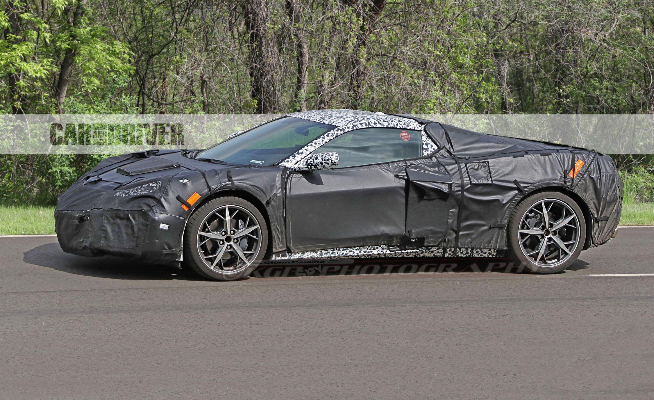 2020 Chevrolet Corvette C8 Fresh Spy Shots Reveal New