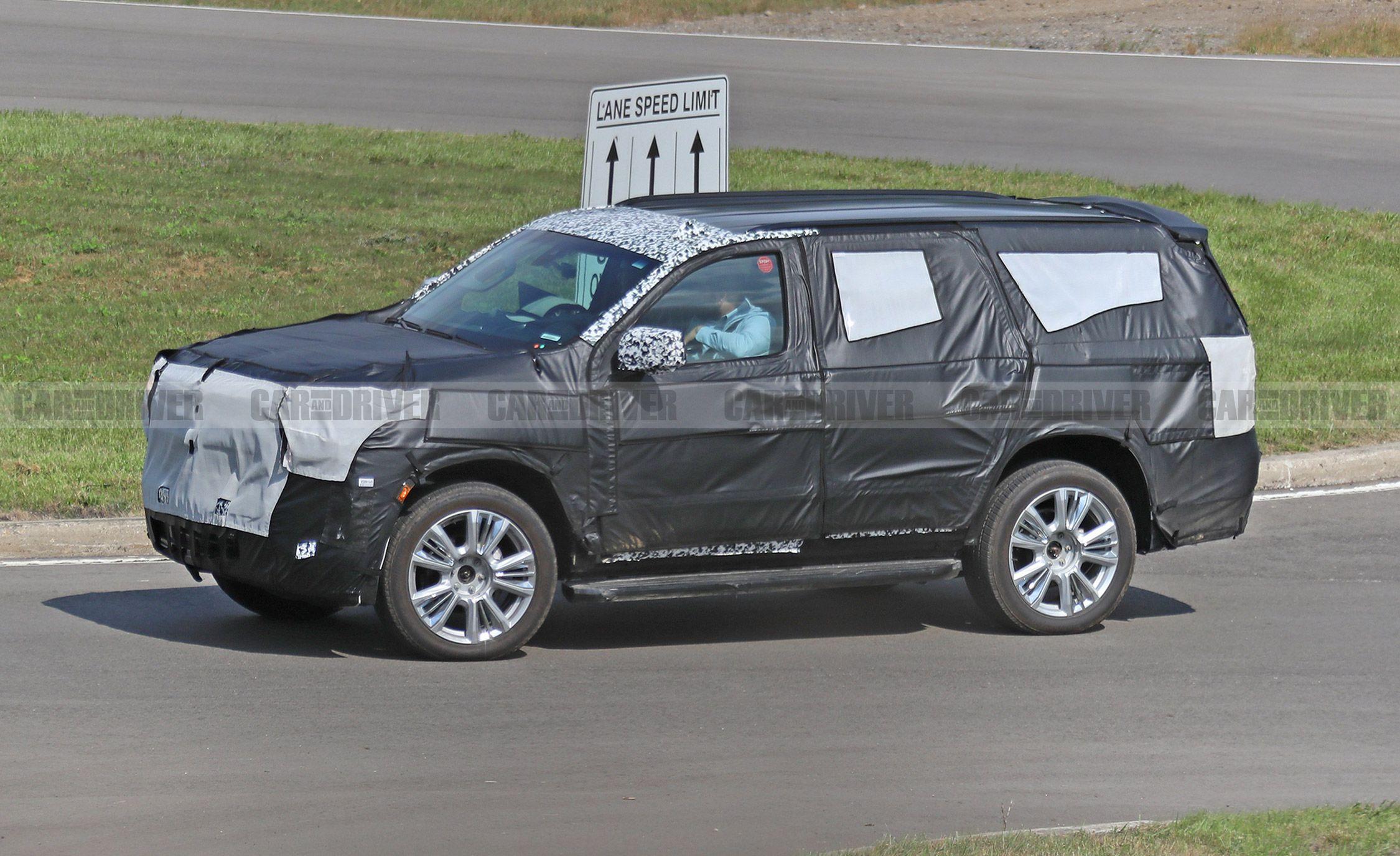 2020 Chevrolet Tahoe Spy Photos Next Gen Full Size Suv